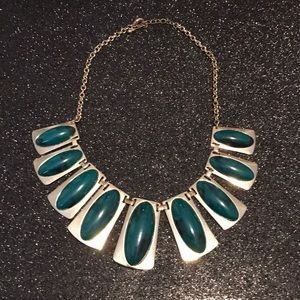 Green/gold necklace